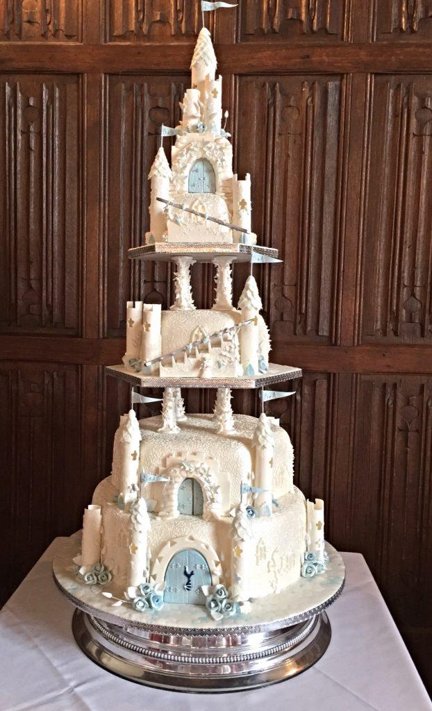 Castle Wedding Cake.Princess Fairy Castle Wedding Cake Our Wedding Cakes